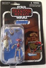 Star Wars Action Figure ROTTS TYERELL & PIT DROID ( VC 77 )Vintage Card