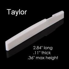 MusicianAtHeart COMPENSATED BONE SADDLE made for Taylor Acoustic Guitar