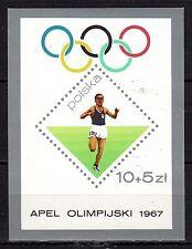 Poland - 1967 Olympic games - Mi. Bl. 40 MNH