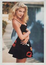 BEVERLY HILLS 90210 postcard cartolina TORI SPELLING as DONNA MARTIN 90's