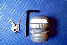50 mm Deichselschloß Anhängerschloß Diebstahlsicherung Diebstahlschutz Schloß