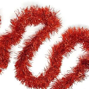 Allgala 50 Feet Christmas Foil Tinsel Garland Decoration for Holiday