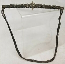 Antique Persian Middle Eastern Caucasian Silver Necklace Belt Filigree