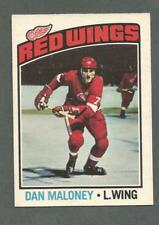 1976-77 OPC O-Pee-Chee Hockey Dan Maloney #101 Detroit Red Wings NMT+ *1