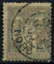 France 1877-90, 3c Grey Used #D50444