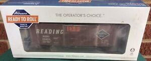 HO  ATH73583 Athearn RTR READING 40' Superior Door Box Car RDG 18055 NEW in box