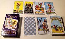 A.E. Waite Tarot Cards - Pamela Coleman Smith Design - Complete set of 78 Cards