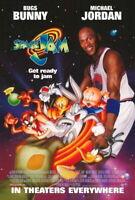 66086 Space Jam Movie Michael Jordan, Bill Murray Decor Wall Print POSTER