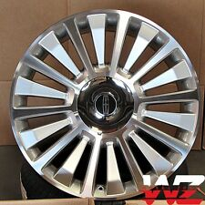"22"" Raptor Style Wheels Silver Machined fits Ford F150 Lincoln Navigator 6x135"