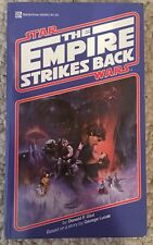 Star Wars The Empire Strike Back Vintage Paperback 1980 Unused Del Rey Exc