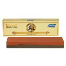 "New Norton Combination India Bench Stone 1"" x 2"" x 8"" - Fine and Course"