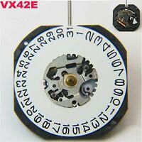 Premium Quartz Watch Movement VX42E Date at 3' Date at 6' for Watch Repair Parts