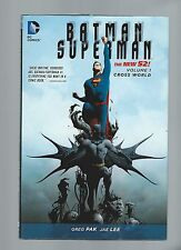 Batman/Superman Cross World Hardcover Mint 9.6 2014