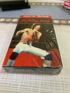THE ROLLING STONES  VHS LET'S SPEND THE NIGHT TOGETHER  SPANISH EDITION SEALED
