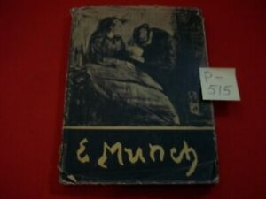 VINTAGE COLLECTIBLE EDVARD MUNCH 1st GREAT MODERN PAINTER-79 OF HIS PAINTINGS