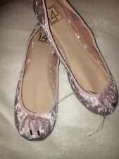 L4L Tinker Ballet Women's Flats Pink Velvet Size 10