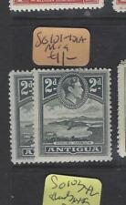 ANTIGUA  (P3112B) KGVI   2D   SG 101-101A       MOG