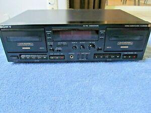 Serviced SONY ES Series TC-WR701ES Cassette Deck, Dolby B C S