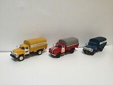 1/43 Set of 3 trucks ZIL-130 Aeroflot, Fire, Postal  handmade Saratov Laboratory