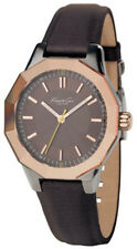 Kenneth Cole KC2473 New York Brown Dial Brown Leather Strap Women's Watch