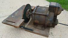 Vintage Westinghouse Single Phase Explosion Proof 1/4 Hp Type FR Motor 1932