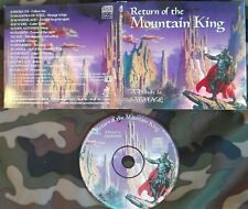 RETURN OF THE MOUNTAIN KING : A TRIBUTE TO SAVATAGE DIGI CD 2000. CAGE EDGE OF