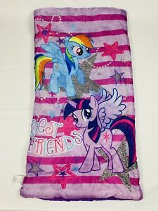 My Little Pony Best Friends Sleeping Bag Hasbro Twilight Sparkle Rainbow Dash