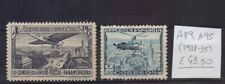 ! Spain 1931-1935. Air Mail Stamp. YT#A89,A95. €43.50 !