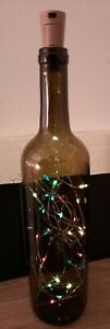 Bottle Decor Multicolor Light Up battery operated