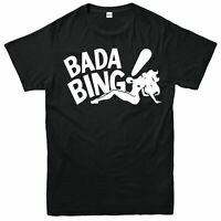 Bada Bing Strip Club T-Shirt The Sopranos Inspired Unisex Adult & Kids Tee Top