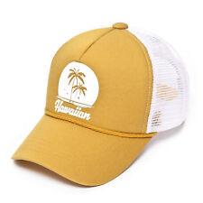 50893dd0fc5 Hawaiian Printed Mesh Cap Baseball Cap Trucker Hat
