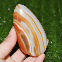 Banded Agate Madagascar,Xlarge Tumbled Beautiful Patterns Free shipping! 100G