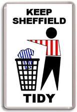 Sheffield United, Keep Sheffield Tidy Fridge Magnet Free Postage