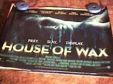 HOUSE OF WAX BRITISH QUAD 2/S PARIS HILTON