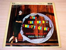 Anthony Newley/Anna Quayle/Stop The World/1961 Decca LP/EX