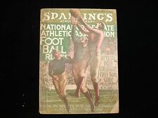 1927 Spalding Official Football Guide - VG/EX