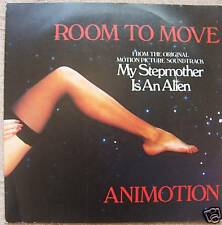 """ANIMOTION ~ Room To Move / Obsession ~ 7"""" Single PS"""