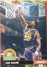 CARTE DE COLLECTION NBA BASKET BALL 1993  ALL DIVISION TEAM KARL MALONE (46)