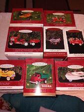 Hallmark Keepsake Ornaments Kiddie Car Classics Lot