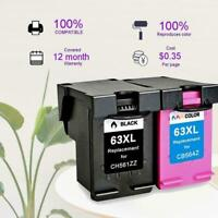 63XL Ink Cartridges For HP envy 4520 Deskjet 3630 38304526, Officejet 4527, M4S3