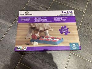 Nina Ottosson by Outward Hound Dog Brick Interactive Treat Puzzle Dog Toy