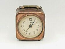 More details for vintage mechanical wind up copper alarm clock