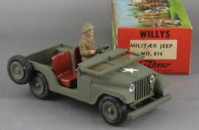 Vintage 1960's Tekno Denmark Willys Jeep vnMint & Boxed Original Beauty