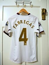 "Arsenal Nike Away Shirt Small 2007-2008 - ""FABREGAS 4"" - PLAYER ISSUE"