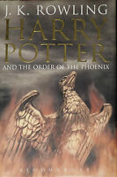 ADULT 1ST ED BOOK 5 HARRY POTTER & THE ORDER OF THE PHOENIX J.K ROWLING HARDBACK