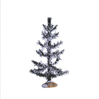 Lemax 2017 White Pine, Medium Winter Villages #74261 Landscaping Decorative Tree