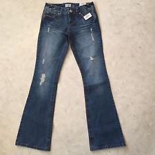 **NEW Women's AEROPOSTLE Hailey Skinny Low Rise Flare Jeans 1/2 Long Reg $49.50