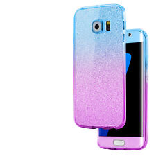 For Samsung Galaxy S6 S7 S8+ S9 J3 A3 A5 360 Silicone Protective Gel Case Cover