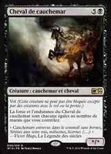 MTG Magic W16 - Nightmare/Cheval de cauchemar, French/VF