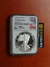 2006 W PROOF SILVER EAGLE NGC PF70 ULTRA CAMEO RARE MERCANTI SIGNED!